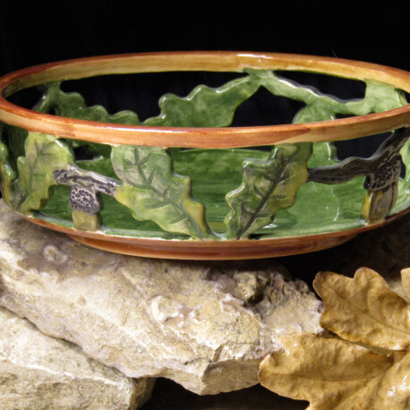 ceramic-candy-bowl-with-oak-leaves-and-acons-bolgarovaceramics