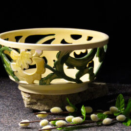 ceramic-candy-bowl-yellow-green-color-bolgarovaceramics