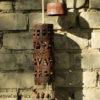 Ажурний керамічний підвісний світильник