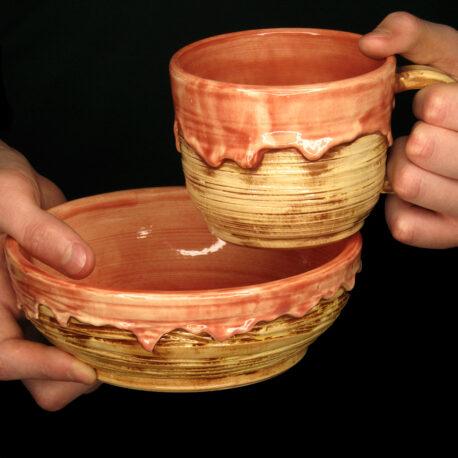 керамічний-набір-з-патьоками-Вишневий-джем